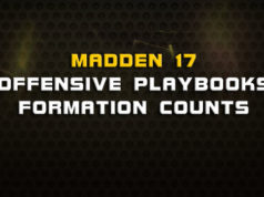 madden 17 offensive playbooks formation counts 238x178 Madden Tips | Madden | Football Plays | Football Strategies