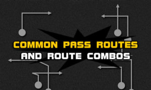 football common pass routes route combos 300x180 Madden Tips | Madden | Football Plays | Football Strategies