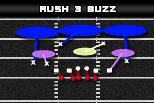 nickel double a gap rush 3 buzz banner 537x360 Madden Tips | Madden | Football Plays | Football Strategies